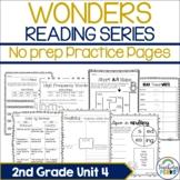 Wonders Supplemental No Prep Practice Pack {Unit 4 2nd Grade}