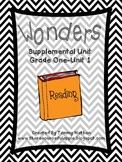 Wonders Supplemental Unit {Grade 1-Unit 1}
