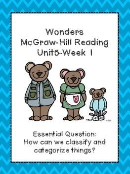 Wonders Supplemental Unit {Grade 1-Unit 5}