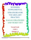 Wonders Supplemental Vocabulary Practice Second Grade