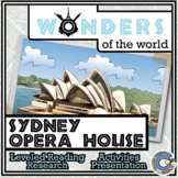 Wonders - Sydney Opera House Resources - Differentiated Leveled Reading & Fun