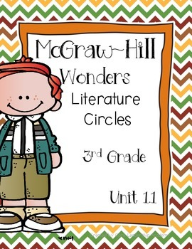 Wonders Thinkmark Literature Circles Complete Unit 1 Week 1-5