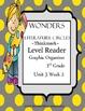 Wonders Thinkmark Literature Circles Complete Unit 3 Week 1-5