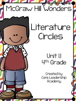 Wonders Thinkmark Literature Circles Unit 1.1 ~ 4th Grade