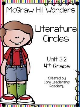 Wonders Thinkmark Literature Circles Unit 3.2 ~ 4th Grade
