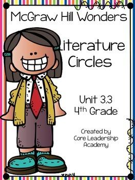 Wonders Thinkmark Literature Circles Unit 3.3 ~ 4th Grade
