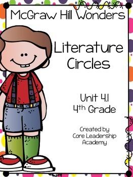Wonders Thinkmark Literature Circles Unit 4.1 ~ 4th Grade