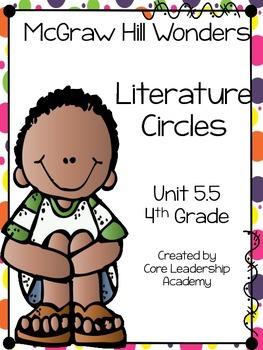 Wonders Thinkmark Literature Circles Unit 5.5 ~ 4th Grade