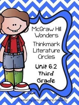 Wonders Thinkmark Literature Circles Unit~ 6 Week 2