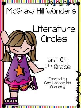 Wonders Thinkmark Literature Circles Unit 6.4 ~ 4th Grade