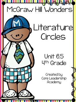 Wonders Thinkmark Literature Circles Unit 6.5 ~ 4th Grade