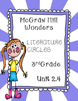 Wonders Thinkmark Literature Circles~Unit 2 Week 4