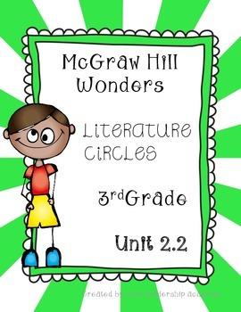Wonders Thinkmark Literature Circles~Unit 2 Week 2