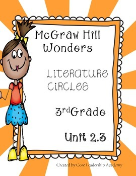 Wonders Thinkmark Literature Circles~Unit 2 Week 3