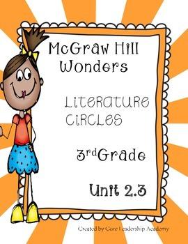 Wonders Thinkmark Literature Circles~Unit 2 Week 3