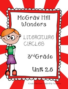 Wonders Thinkmark Literature Circles~Unit 2 Week 5