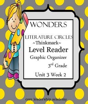 Wonders Thinkmark Literature Circles~Unit 3 Week 2