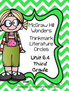 Wonders Thinkmark Literature Circles~Unit 6 Week 4
