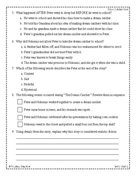 Wonders Third Grade (3rd Grade) Comprehension Unit 1 Week 2