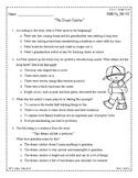 Wonders Third Grade (3rd Grade) Comprehension Unit 1 Week 2