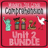 Wonders Third Grade Unit 2 Weeks 1-5 Bundle Comprehension
