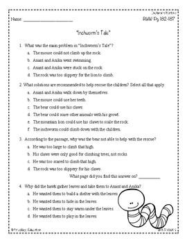 Wonders Third Grade (3rd Grade) Comprehension Unit 3 Week 1 | TpT