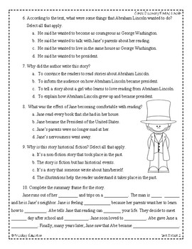 Wonders Third Grade (3rd Grade) Comprehension Unit 3 Week 2