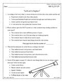 Wonders Third Grade (3rd Grade) Comprehension Unit 3 Week 3