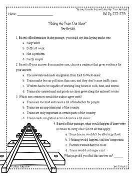 Wonders Third Grade (3rd Grade) Comprehension Unit 3 Week 5