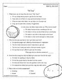 Wonders Third Grade (3rd Grade) Comprehension Unit 4 Week 1