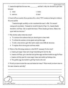 Wonders Third Grade (3rd Grade) Comprehension Unit 5 Week 1