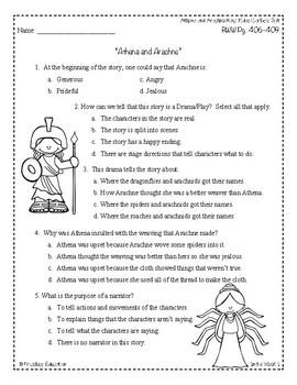 Wonders Third Grade (3rd Grade) Comprehension Unit 6 Week 1