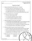 Wonders Third Grade (3rd Grade) Comprehension Unit 6 Week 3