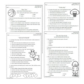 Wonders Third Grade Unit 5 Week 1-5 Bundle Comprehension (3rd Grade)