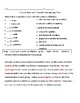 3rd Grade  Wonders  Vocabulary Test Unit 1 Week 4