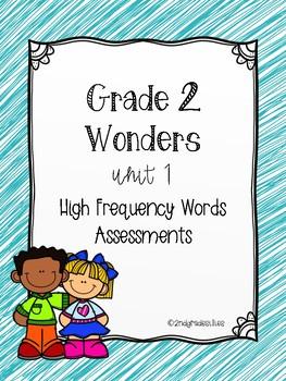 Wonders U1 Bundle High Frequency Words Assessment
