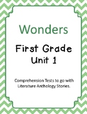 Wonders Unit 1 Comprehension Tests