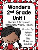 Wonders Unit 1 Homework