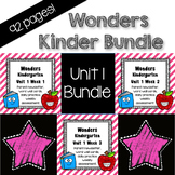 Wonders Unit 1, Kinder, Morning Work, Tests, Common Core