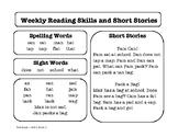 Wonders Unit 1 Reading Homework
