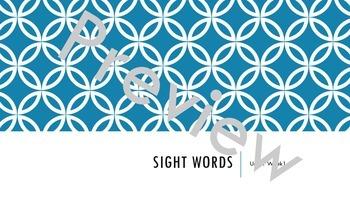 Wonders Unit 1 Sight Words Bundle