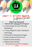 Wonders Unit 1 Story Maps Scaffolded Packet
