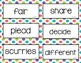 Wonders Unit 1 Vocabulary Cards (2nd Grade)