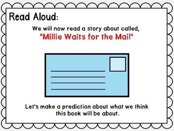 Wonders. Unit 2 Week 1 Power Point. Millie Waits for the Mail. First Grade