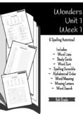 Wonders Unit 1 Week 1 - Spelling Activities - 5th Grade