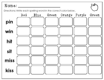 Wonders Unit 1 Week 2 Center Worksheets and Focus Wall First Grade