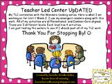 Wonders Unit 1 Week 2 - Teacher Led Center