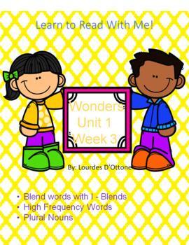 Wonders Unit 1 Week 3