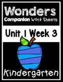 Wonders Unit 1 Week 3 Centers/Worksheets At The Seashore!