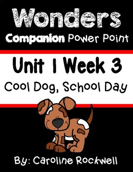 Wonders Unit 1 Week 3 Centers Worksheets and Focus Wall Packet First Grade